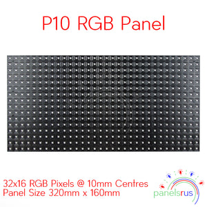 P10 16x32 Indoor LED Panel