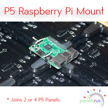 Load image into Gallery viewer, Indoor P5 Raspberry Pi Mount