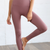 Seamless Ribbed High-Waisted Leggings
