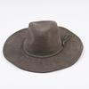 Olive Braided Fedora