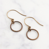 Roped Ring Earrings