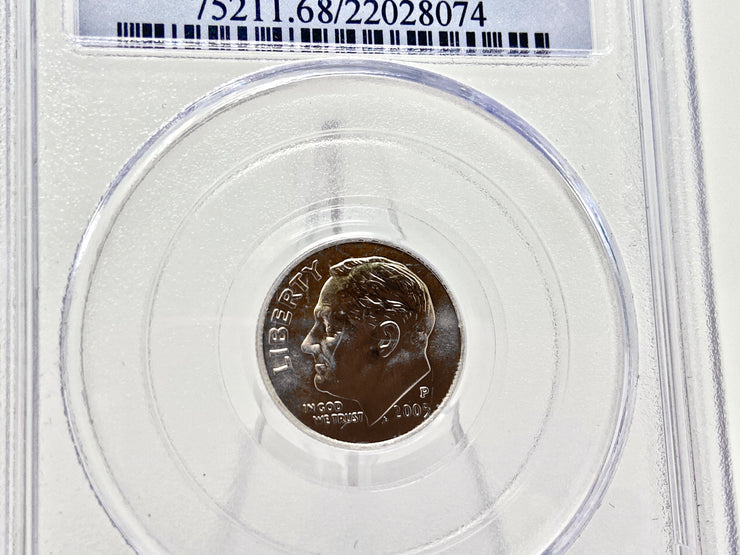 2005-P 10C Satin Finish (Special Strike) Roosevelt Dime PCGS MS68