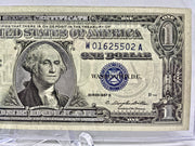 "1957 UNCIRCULATED US SILVER CERTIFICATES ""SILVER ENHANCED"" IN PROTECTOR"