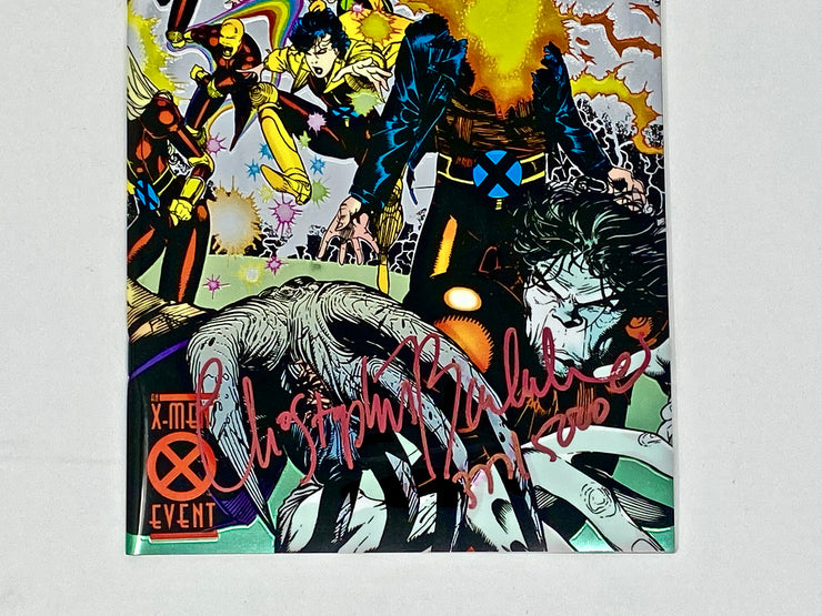 RARE AUTHENTIC 1994 GENERATION X #1 STAN LEE SIGNED COMIC WITH COA