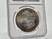 1878 CARSON CITY MS63 MORGAN SILVER DOLLAR - NGC GRADING -NICE EYE APEAL