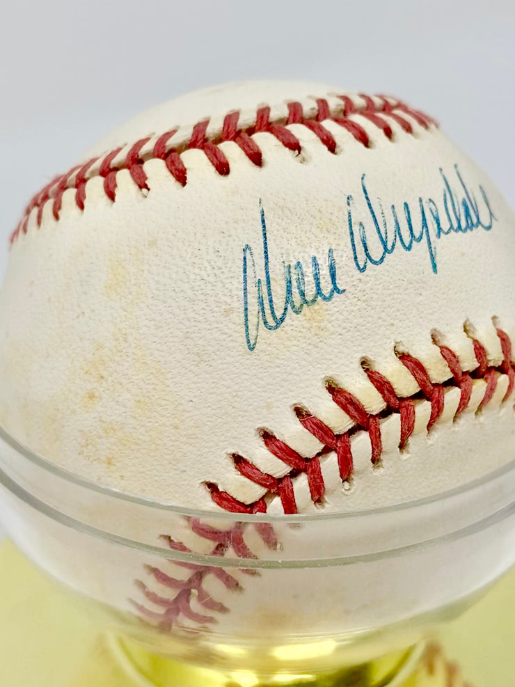 DON DRYSDALE AUTHENTIC SIGNED BASEBALL WITH COA