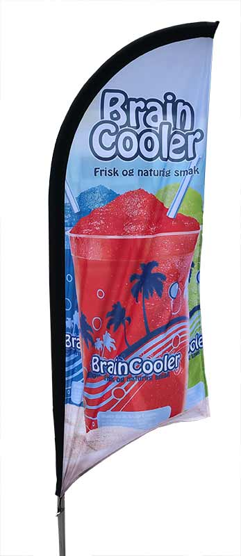 BrainCooler beachflagg