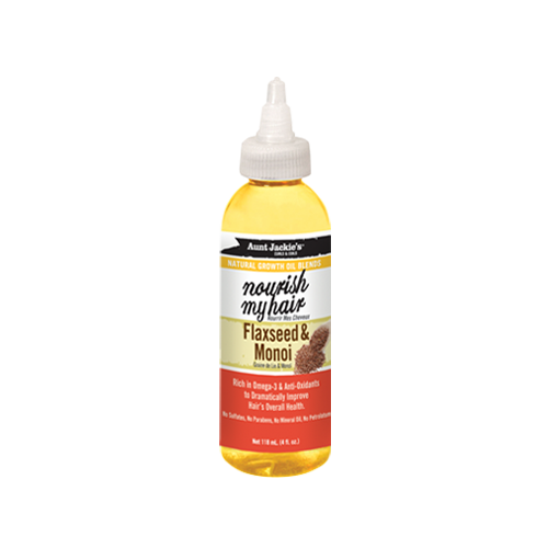 AUNT JACKIE'S - FLAXSEED & MONOI NOURISH OIL