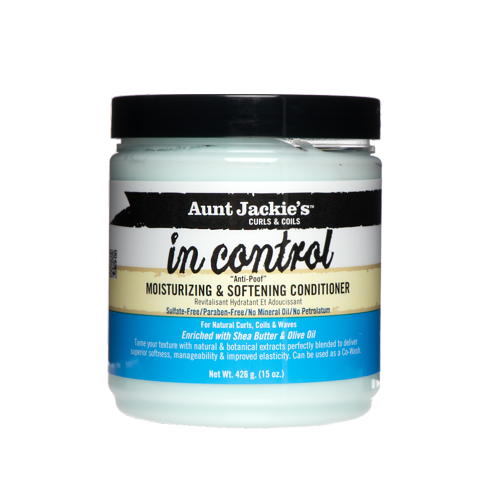 "AUNT JACKIE'S - IN CONTROL ""ANTI-POOF"" MOISTURIZING & SOFTENING CONDITIONER"