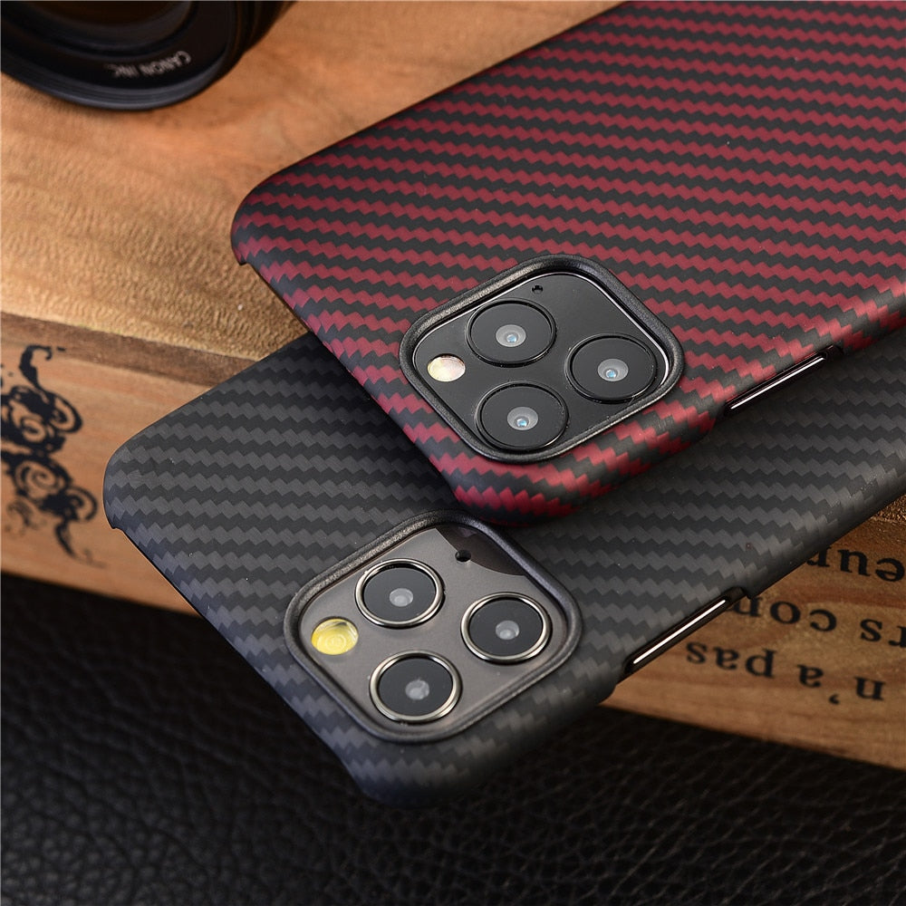 Carbon Fiber Case for iPhone - Lightek