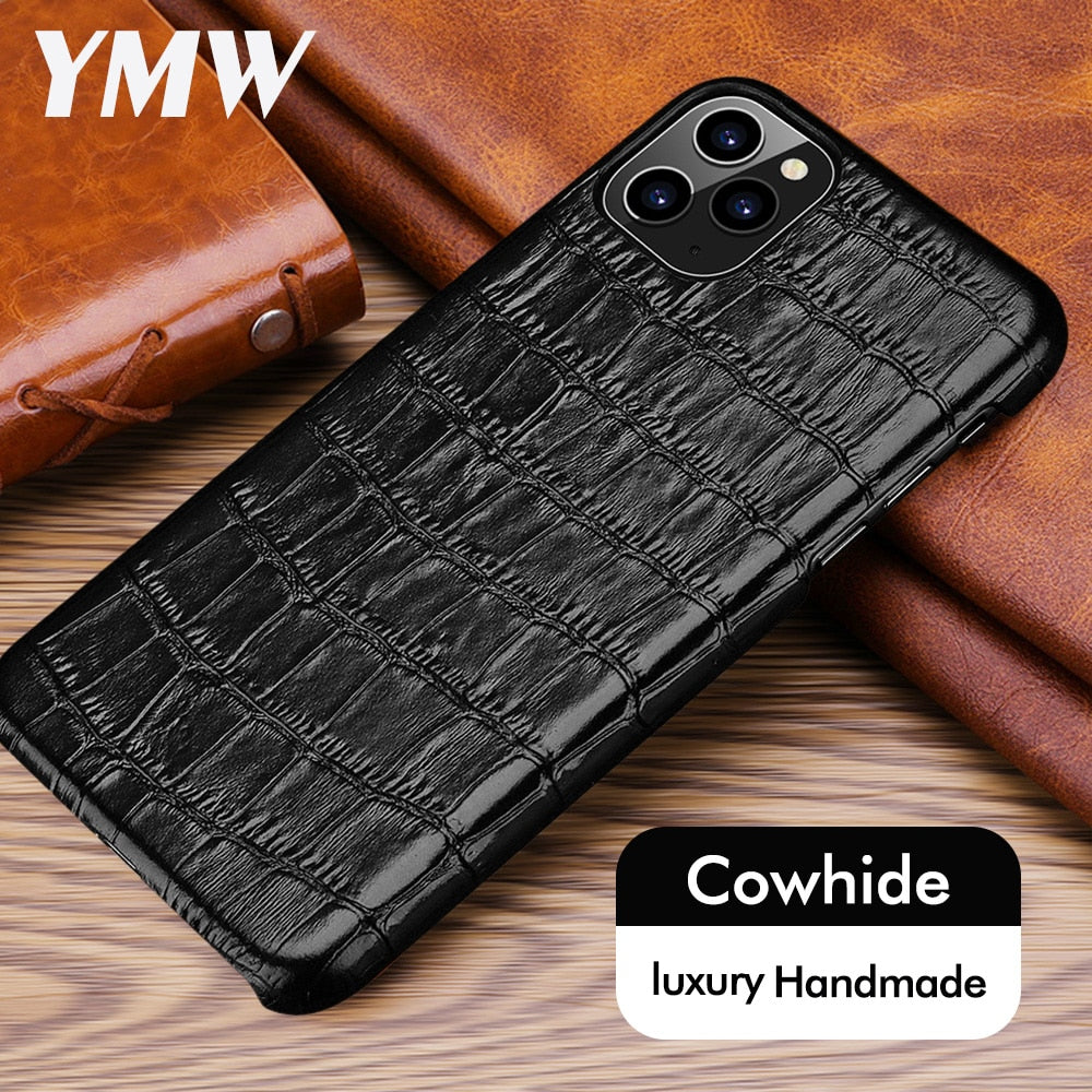 Luxury Leather Case for iPhone - Lightek