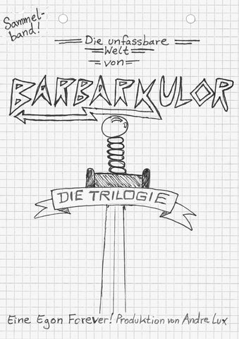 Barbarkulor - Andre Lux - Comics N'More