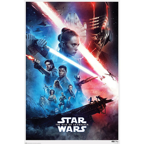 Star Wars Episode 9 Poster The Rise of Skywalker - Comics N'More
