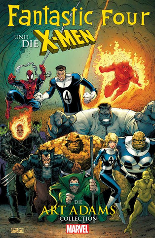 Fantastic Four und die X-Men Collection von Art Adams - Comics N'More