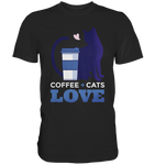 Coffee and Cats : Love  - Classic Shirt - Comics N'More