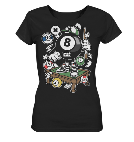 Billiard Star - Ladies Organic Shirt - Comics N'More
