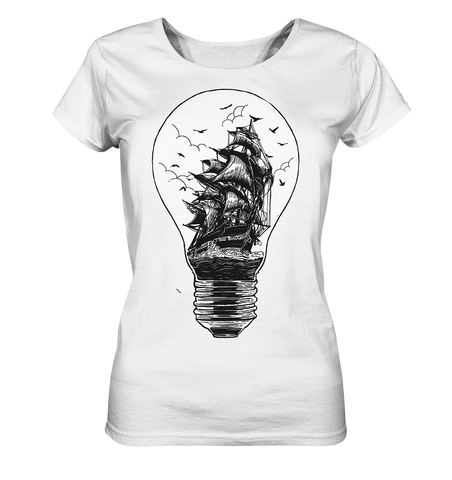 Journey of the Light - Ladies Organic Shirt - Comics N'More