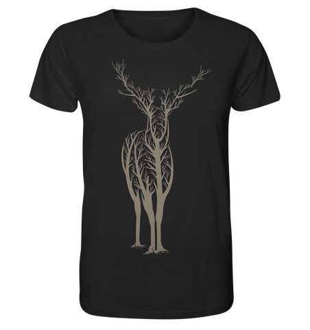 Deer in Tree - Organic Shirt - Comics N'More