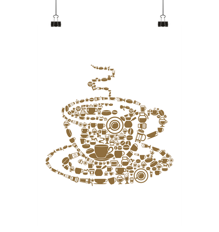 Coffee World - Poster Large (A1+) - Comics N'More