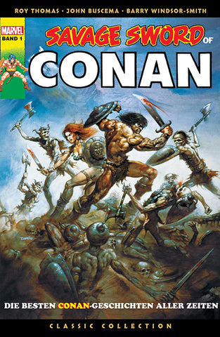 Savage Sword of Conan: Classic Collection 1 - Comics N'More