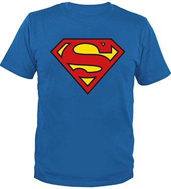 Superman T-Shirt Classic Logo - Comics N'More