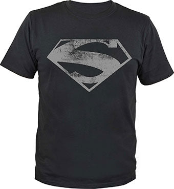 Superman T-Shirt Man of Steel Logo - Comics N'More