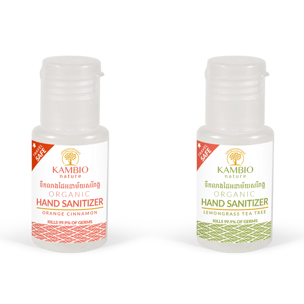Kambio Nature all natural Organic Hand Sanitiser