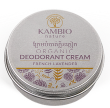 Load image into Gallery viewer, Kambio Nature All Natural Lavender Organic Essential Oil Deodorant Cream