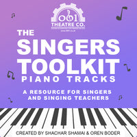 The Singers ToolKit: Piano Tracks - Vol. 1
