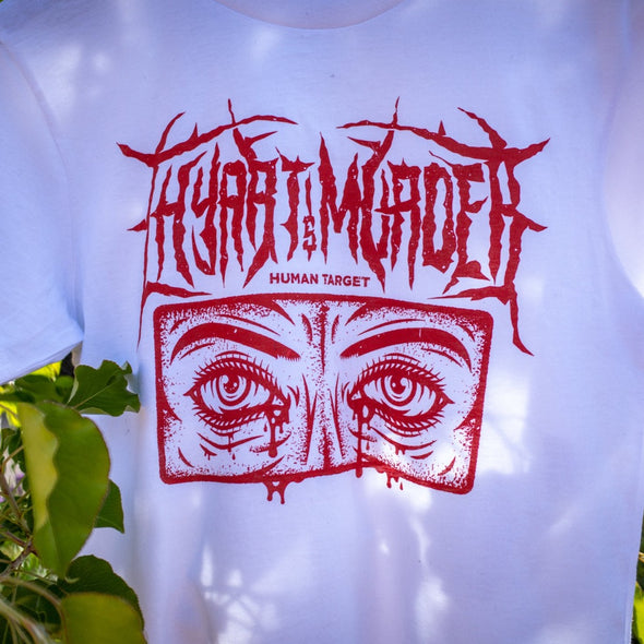 BLOOD IN OUR EYES // Tee (White)