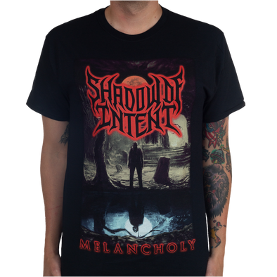 Shadow Of Intent Melacholy album cover tee merch warfare