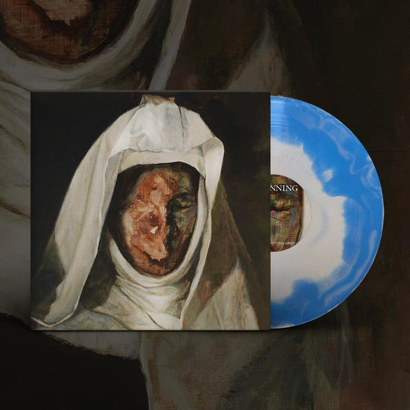 "FROM THE UNFORGIVING ARMS OF GOD // 12"" Vinyl LP (Blue and white splatter)"