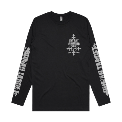 Thy Art Is Murder longsleeve tee Merch Warfare Australia store