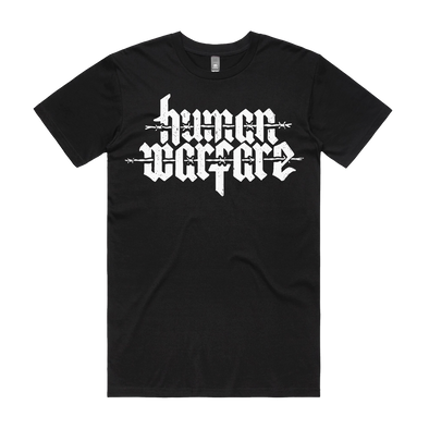 Human Merch Warfare pocket logo tee as colour thy art is murder