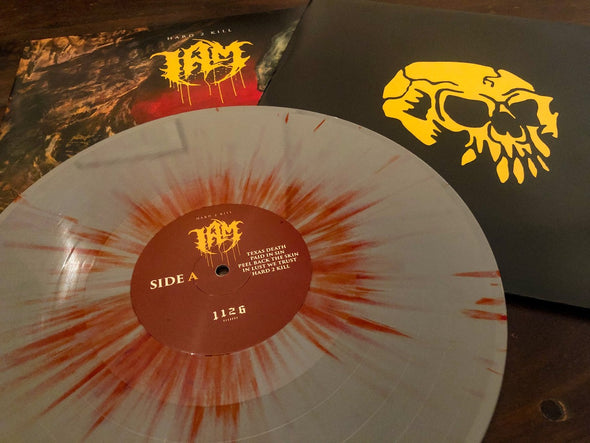 "HARD 2 KILL // 12"" Vinyl LP (Grey with red splatter)"