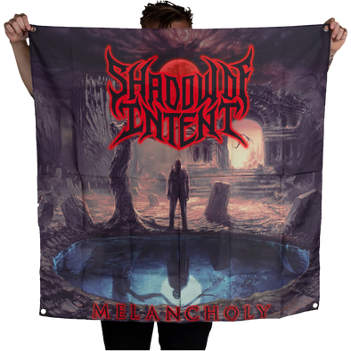 Shadow Of Intent Melancholy album cover flag