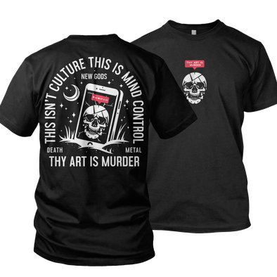 Thy Art Is Murder tee Merch Warfare