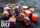 Heart Beat Dice - Rainbow Pride