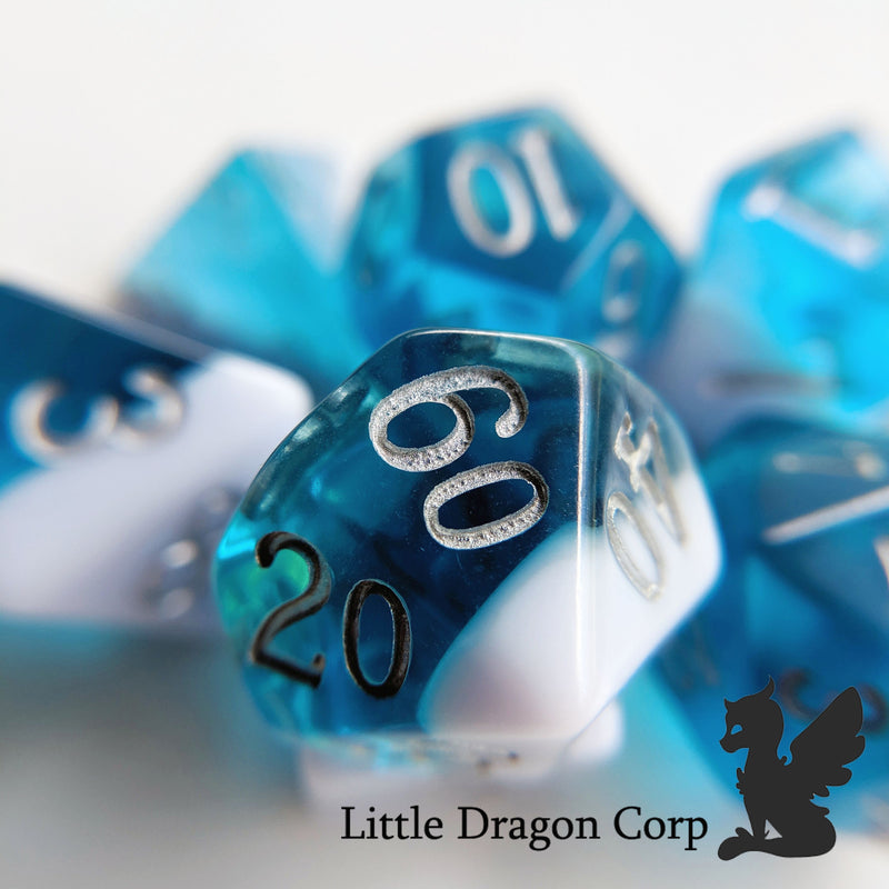 Little Dragon Corp - Aquamarine Layered