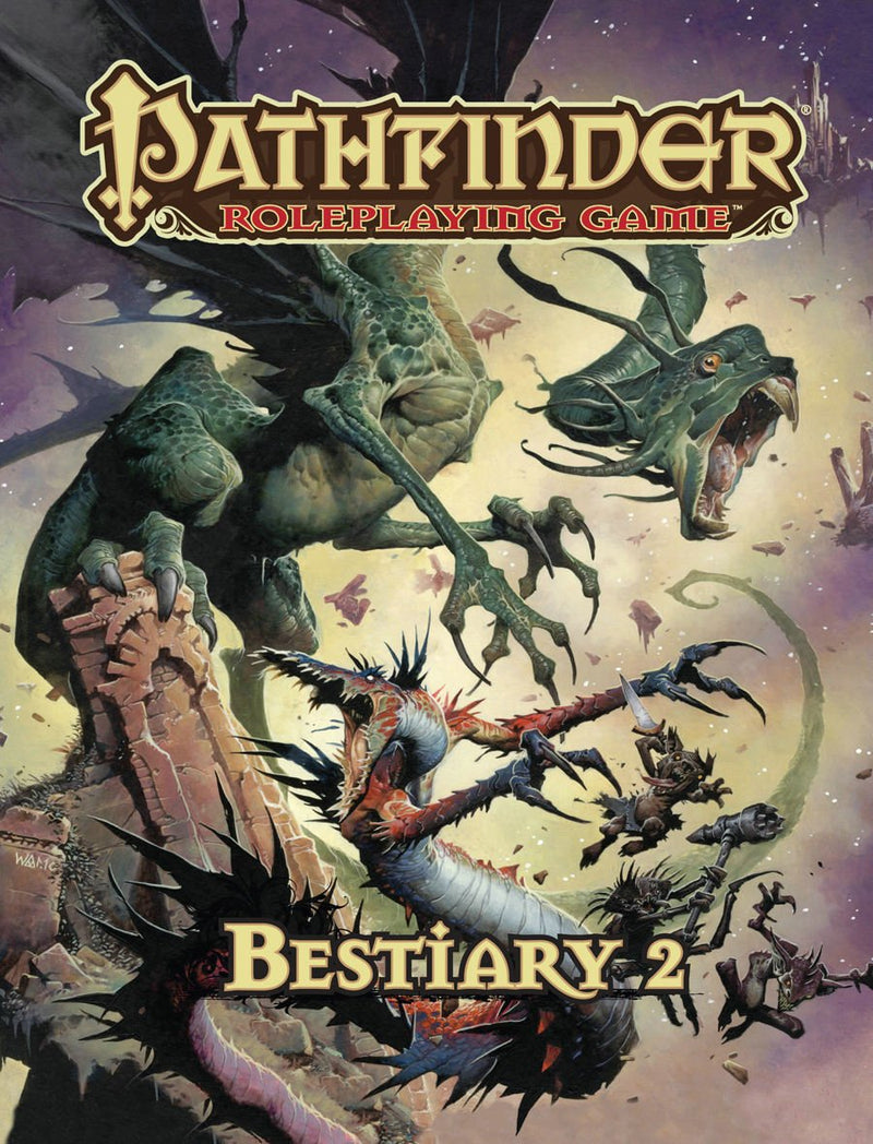 Pathfinder Roleplaying Game: Bestiary 2 Hardcover