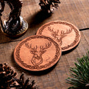 Stag small Trinket/Dice Bowl, Coaster and Box