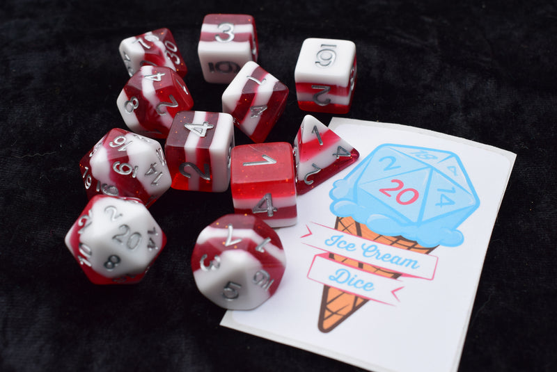 Ice Cream Dice - Merry Critmas