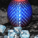 Dragon Egg Dice Box - Arcane Fire - Diamond