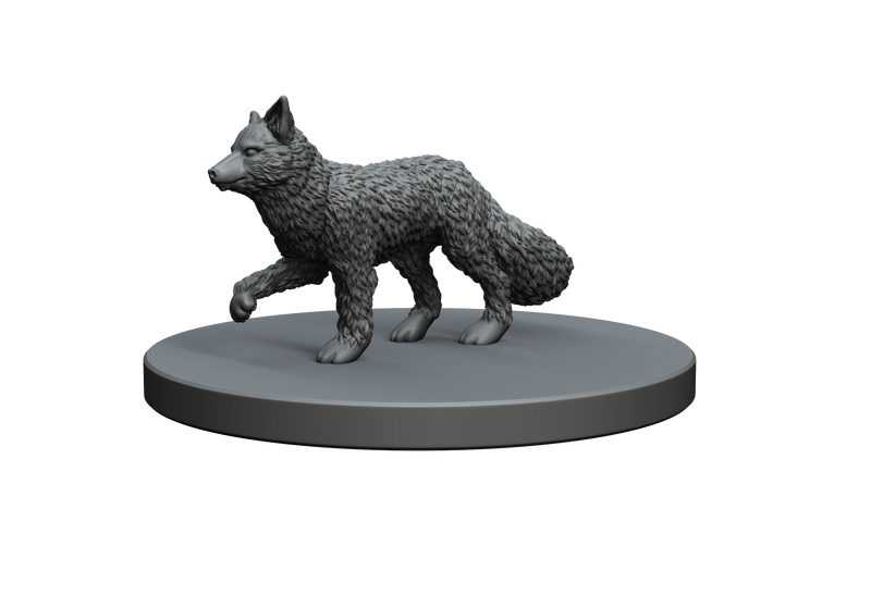 Fox STL Miniature File