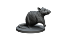 Giant Rat STL Miniature File
