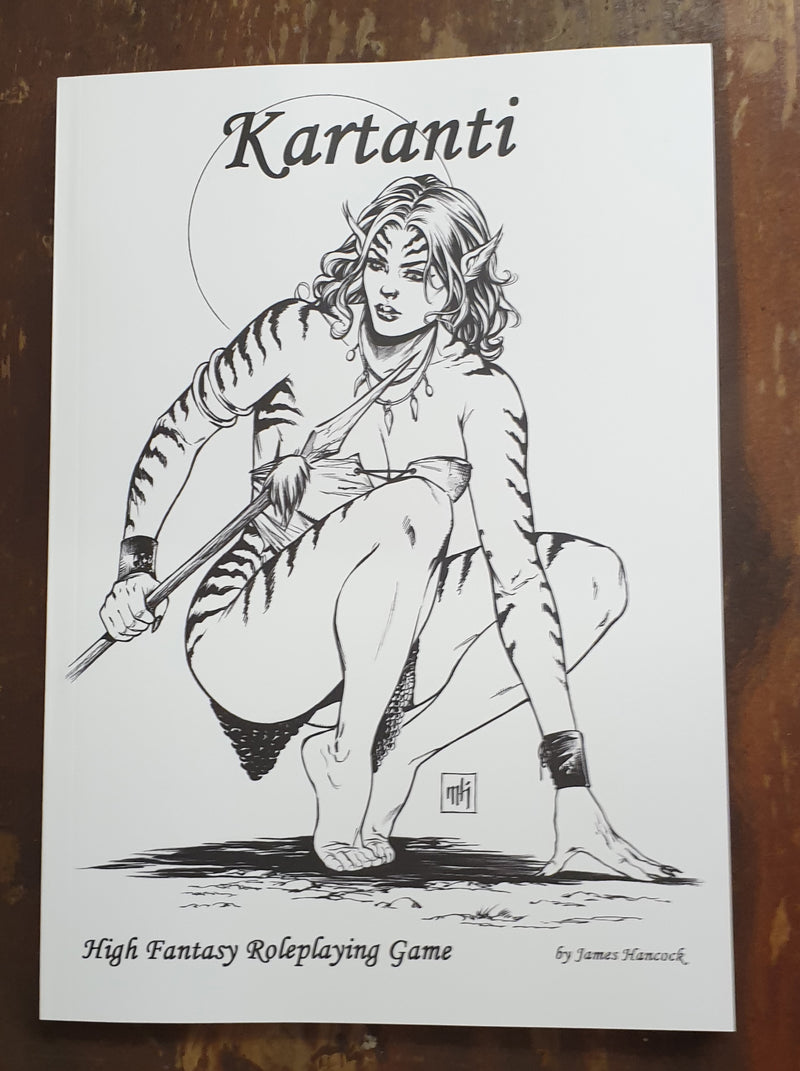Kartanti, SIGNED & NUMBERED LIMITED EDITION