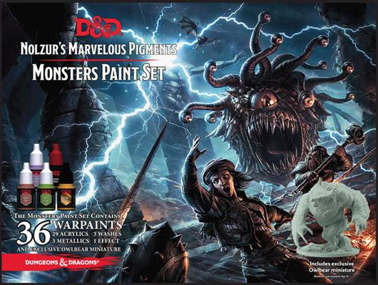 Nolzur's Marvelous Pigments - Monster Paint Set