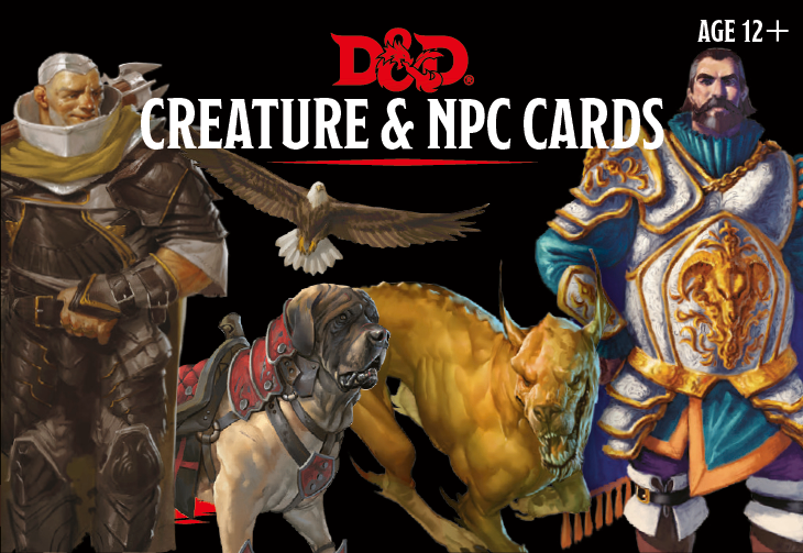 Monster Cards: NPC & Creatures