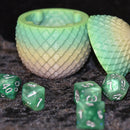 Dragon Egg Dice Box - Pastel Lines - Diamond