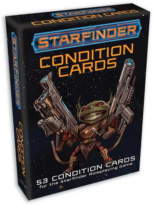 Starfinder Condtion Cards